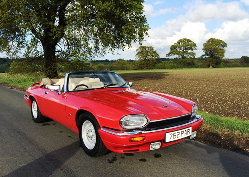 Lot 215 - 1992 Jaguar XJS V12 Convertible
