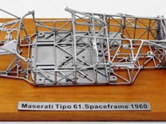 Navigate to Maserati Tipo 61 Space Frame Model