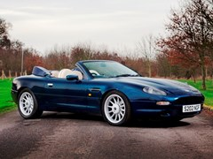 Navigate to Lot 157 - 1998 Aston Martin DB7 Volante