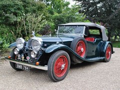 Navigate to Lot 201 - 1935 Alvis Speed 20