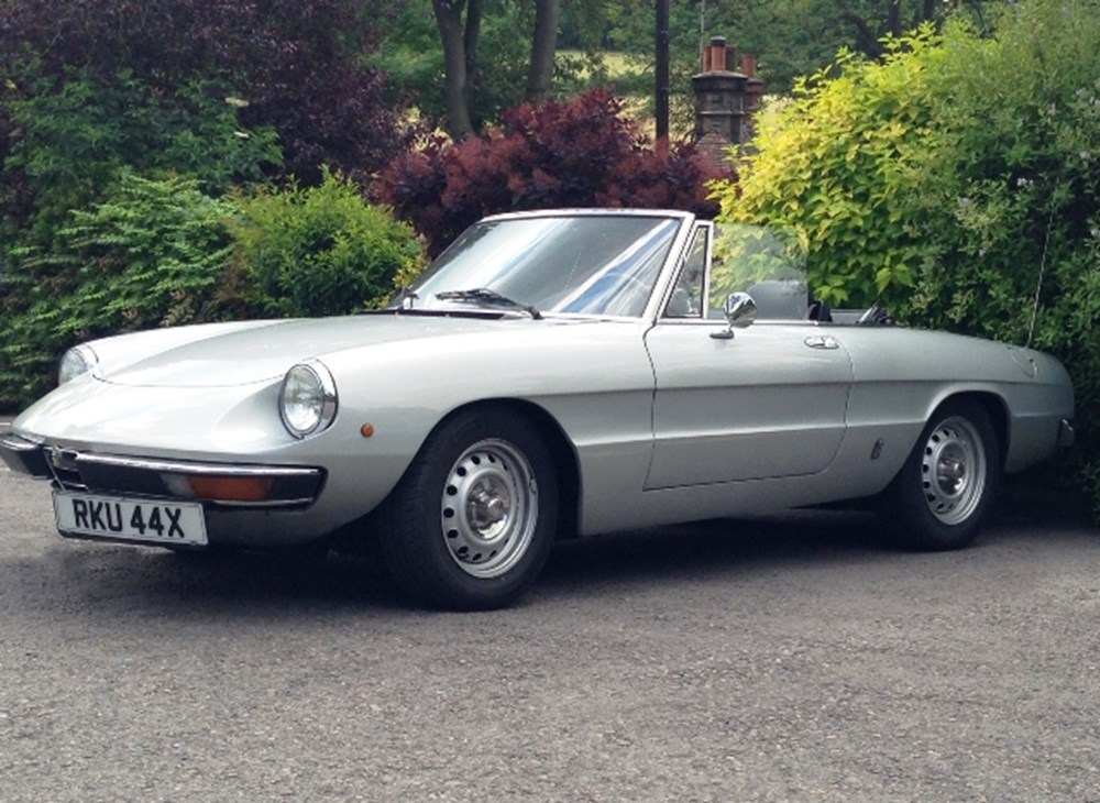 Lot 226 - 1981 Alfa Romeo Spider Junior 1600 Series II 'Kamm tail'