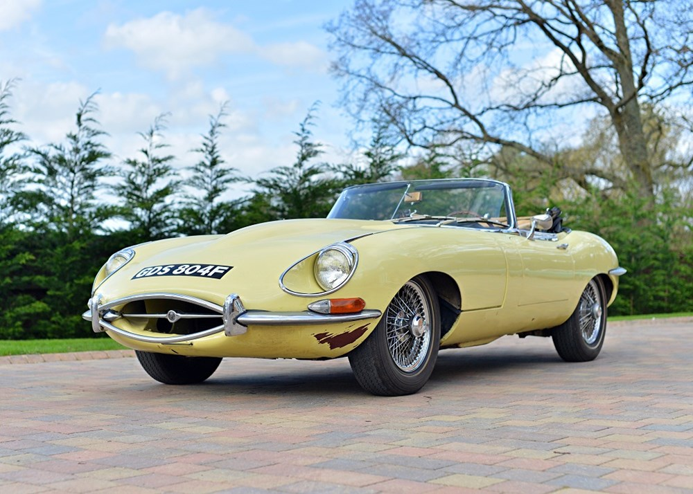Lot 183 - 1968 Jaguar E-Type Series 1½ Roadster