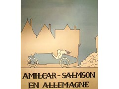 Navigate to Five Amilcar-Salmson posters