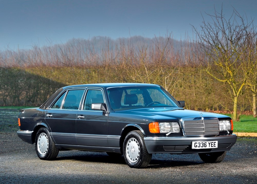 Lot 228 - 1989 Mercedes-Benz 420 SEL