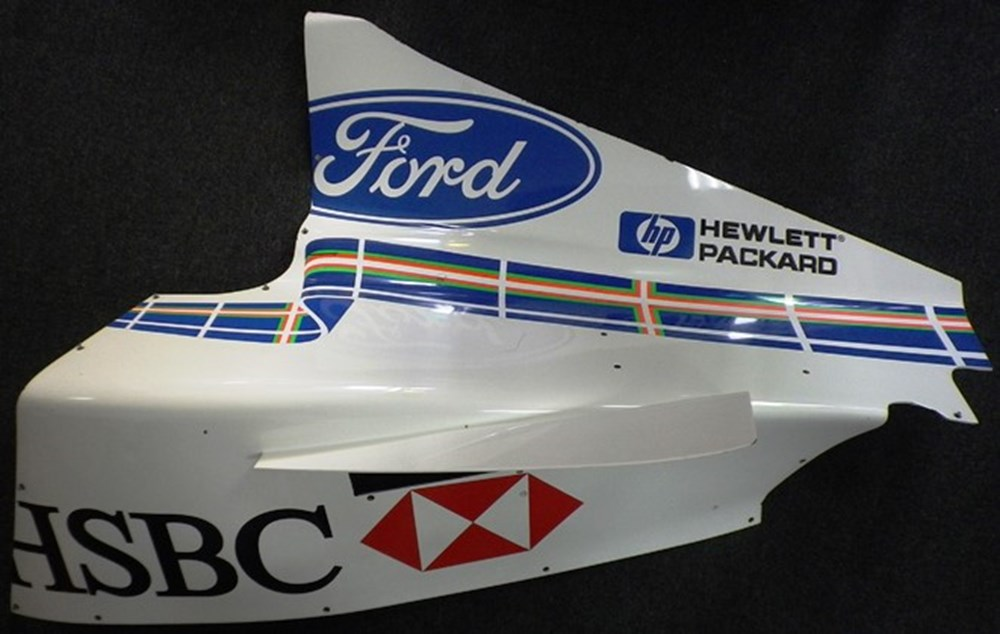 Lot 130 - F1 Stewart Ford Side Panel