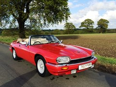 Navigate to Lot 215 - 1992 Jaguar XJS V12 Convertible