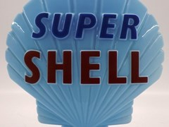Navigate to A Super Shell Petrol globe