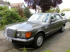 Navigate to Lot 221 - 1983 Mercedes-Benz 380SE Saloon