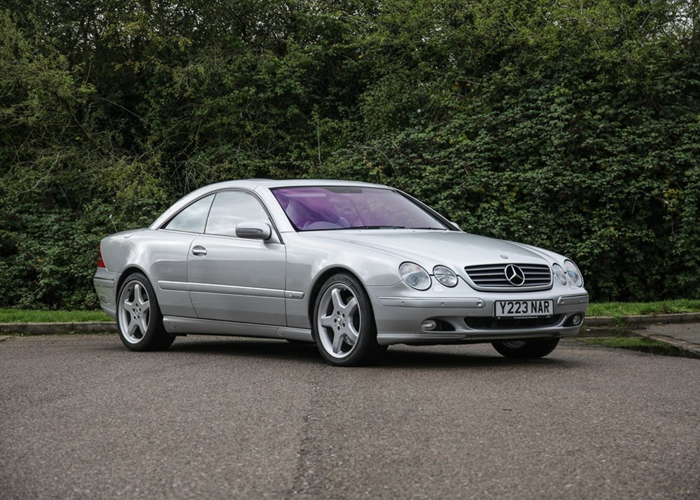 Lot 196 - 2001 Mercedes-Benz CL600