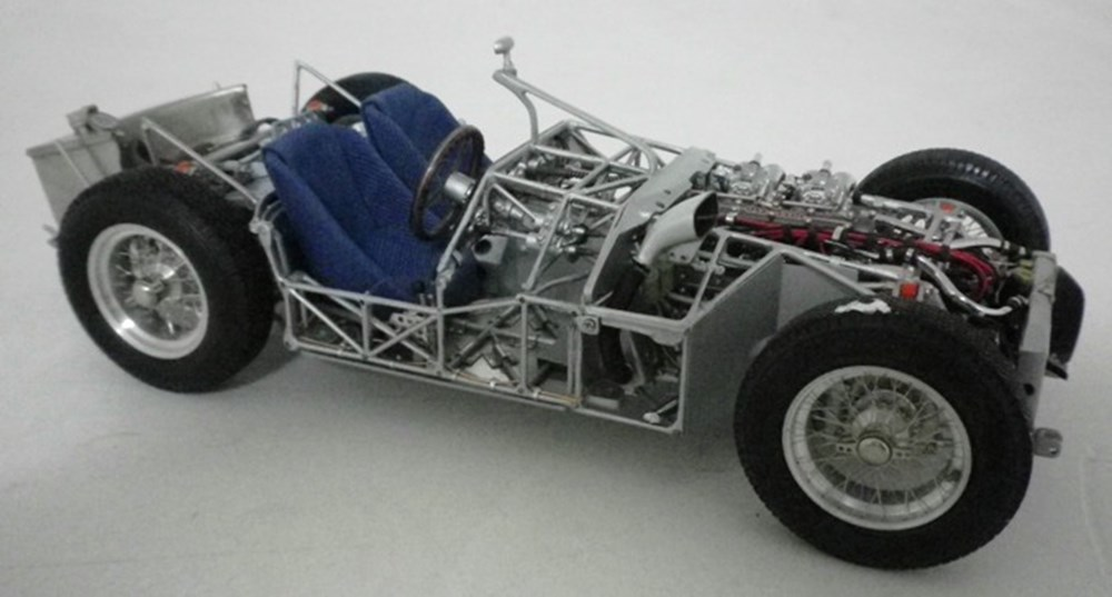 Lot 30 - Maserati birdcage chassis.