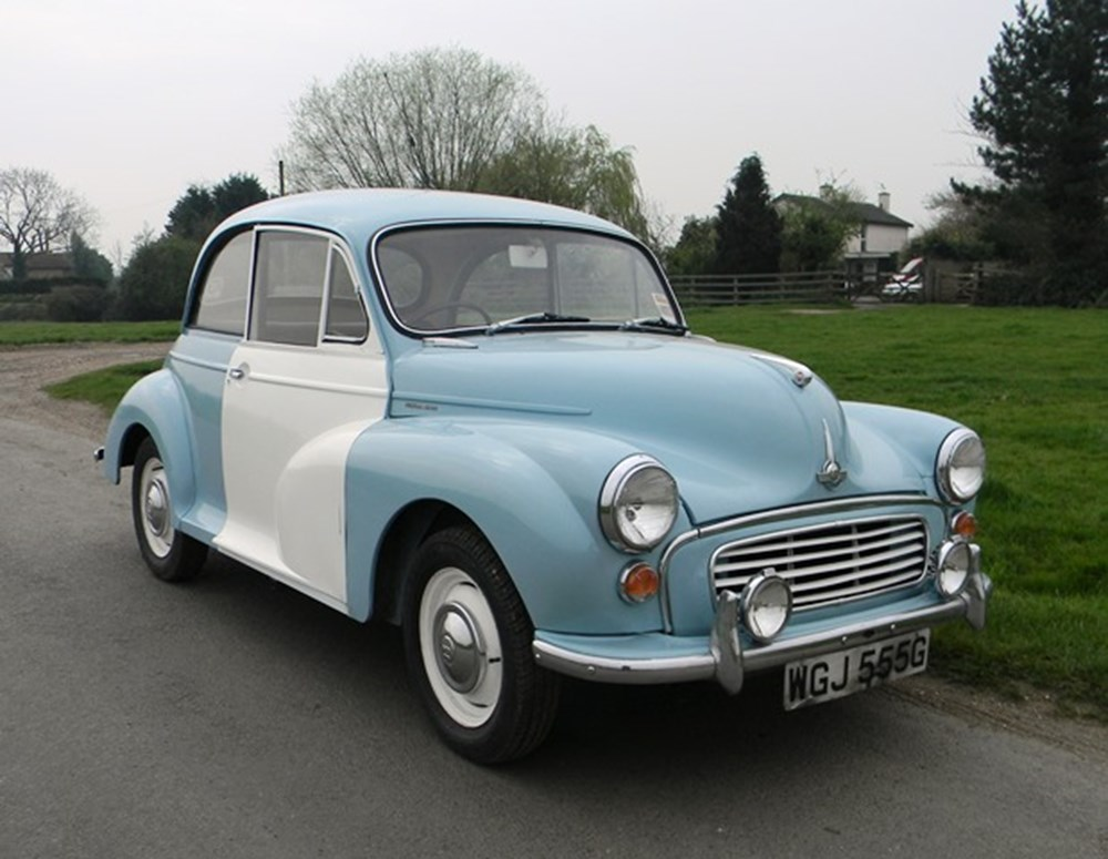 Lot 322 - 1969 Morris Minor 1000 Police Panda Car
