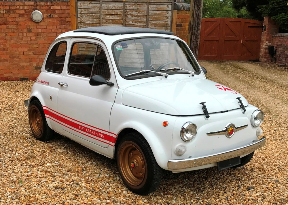 Ref 37 1974 Fiat Abarth 595 Classic Sports Car Auctioneers