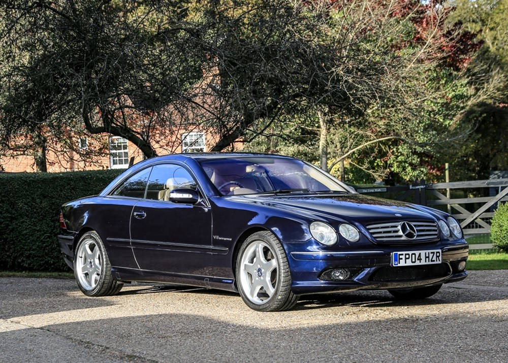 Lot 242 - 2004 Mercedes-Benz CL55 Kompressor AMG