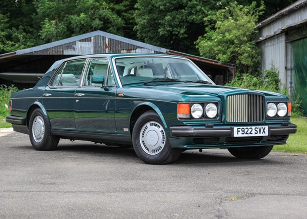 Lot 142 - 1989 Bentley Turbo R
