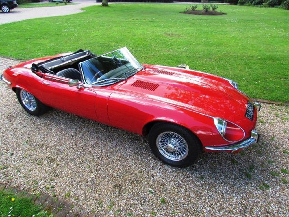 Lot 317 - 1973 Jaguar E-Type Series III Roadster
