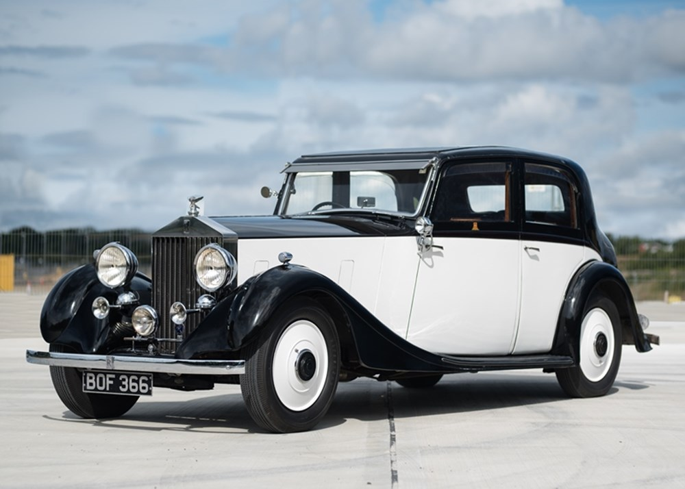 Lot 168 - 1935 Rolls-Royce 20/25 Sports Saloon by James Young