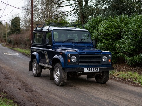 Ref 37 1997 Land Rover 90 Defender County Station Wagon TDi DL