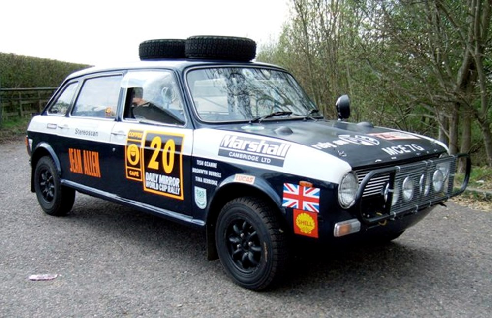 Lot 217 - 1969 Austin Maxi '1970 World Cup London to Mexico City Rally Car'
