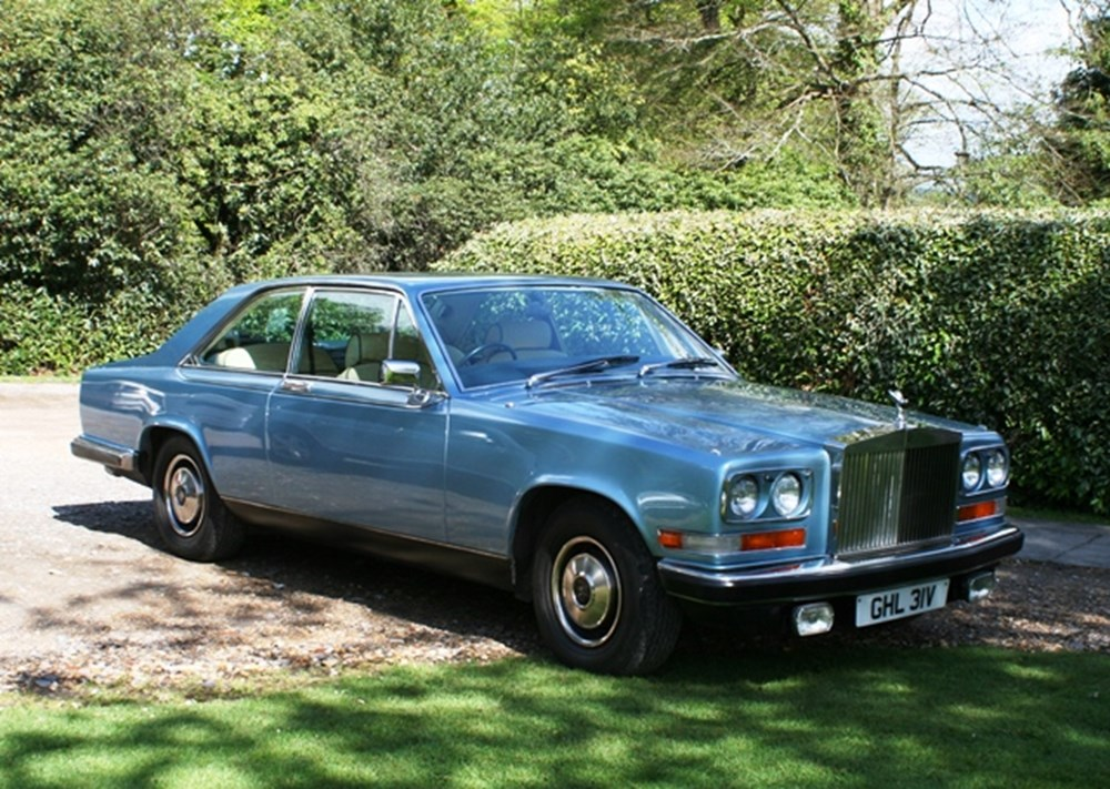 Lot 262 - 1980 Rolls-Royce Camargue