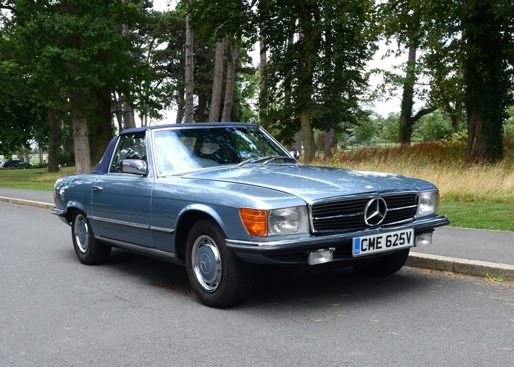 Lot 230 - 1979 Mercedes-Benz 350 SL Roadster