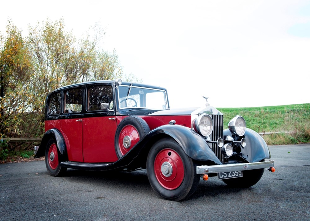 Lot 159 - 1935 Rolls-Royce 20/25 by Hooper