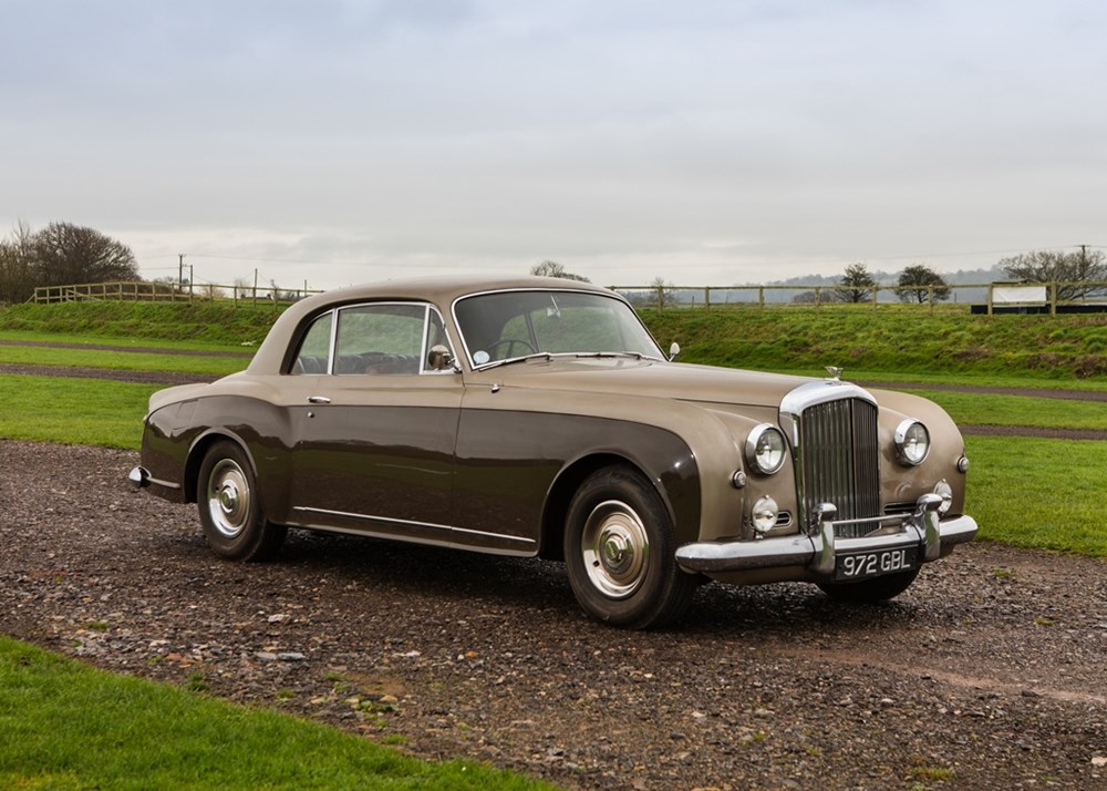 ref 62 1956 bentley s1 continental park ward coup. Black Bedroom Furniture Sets. Home Design Ideas
