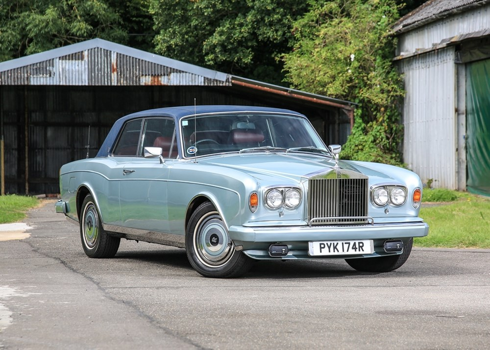 Lot 156 - 1977 Rolls-Royce Corniche