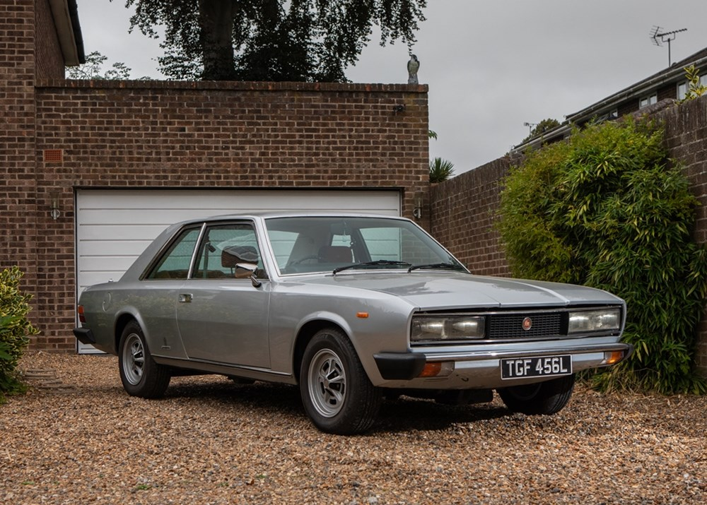 Lot 103 - 1973 Fiat 130B Coupé by Pininfarina