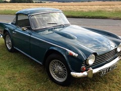 Navigate to Lot 306 - 1968 Triumph TR5 (Surrey Top)