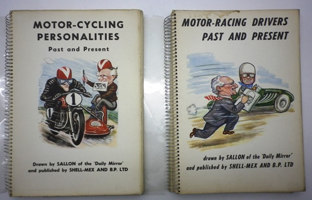 Lot 10 - Two early motor sport books