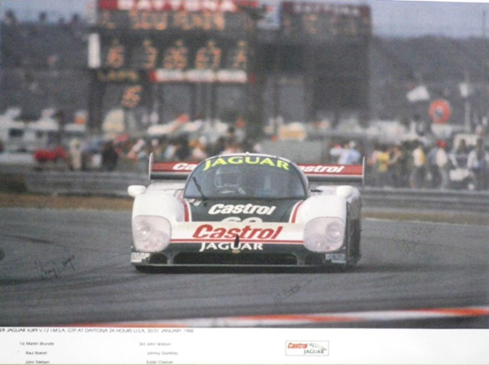 Lot 45 - TWR Jaguar XJR9 print