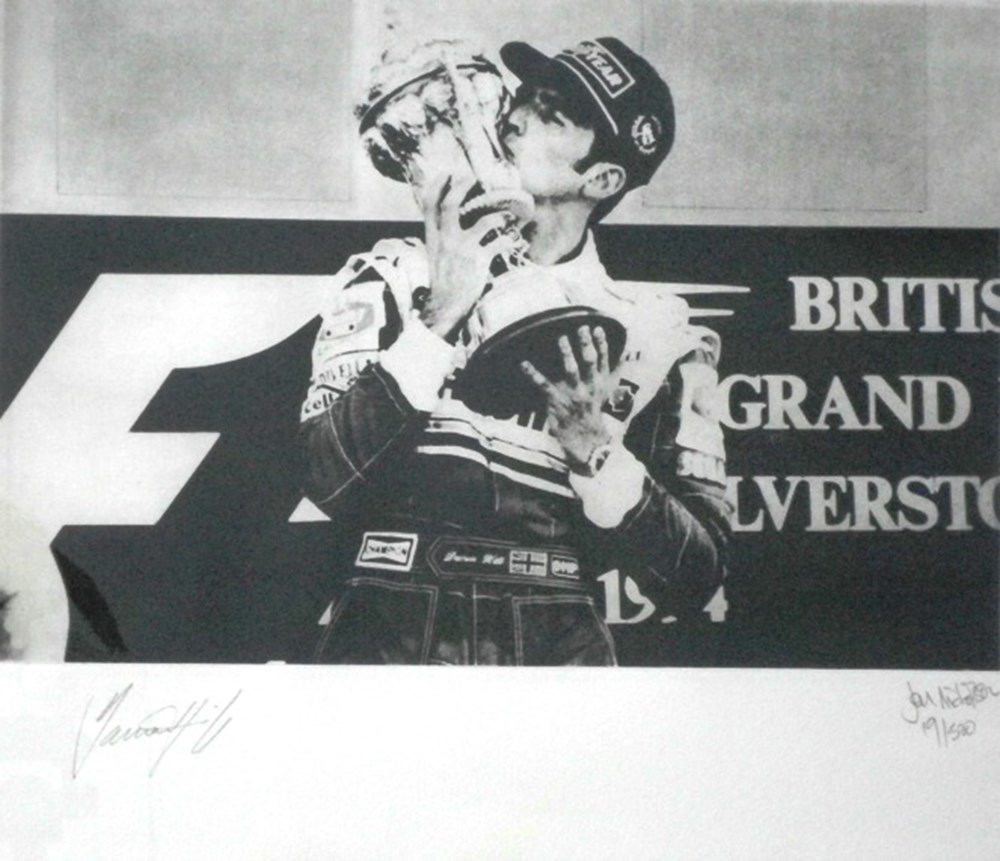 Lot 14 - Damon Hill limited edition prints