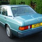 Mercedes-Benz 190E (blue) -