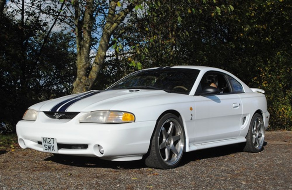 Lot 254 - 1996 12918 Mustang SVT Cobra