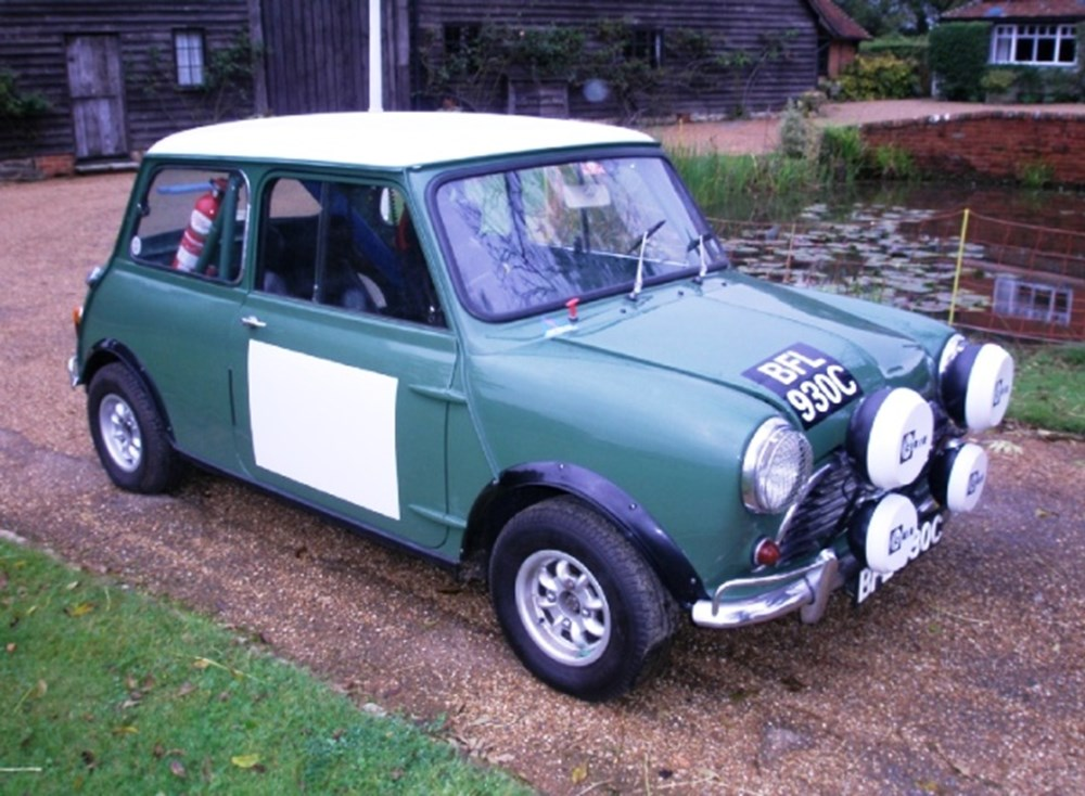 Lot 215 - 1965 Morris Mini Cooper Full Rally Specification