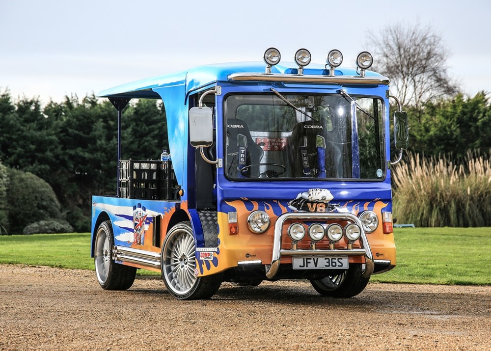 Lot 199 - 1978  Crompton Milk Float (Guinness World Record Holder)