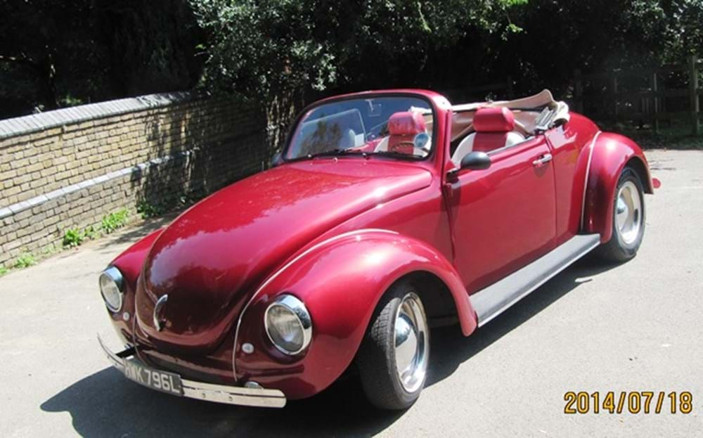 Lot 204 - 1972 Volkswagen Beetle (Wizard) Convertible
