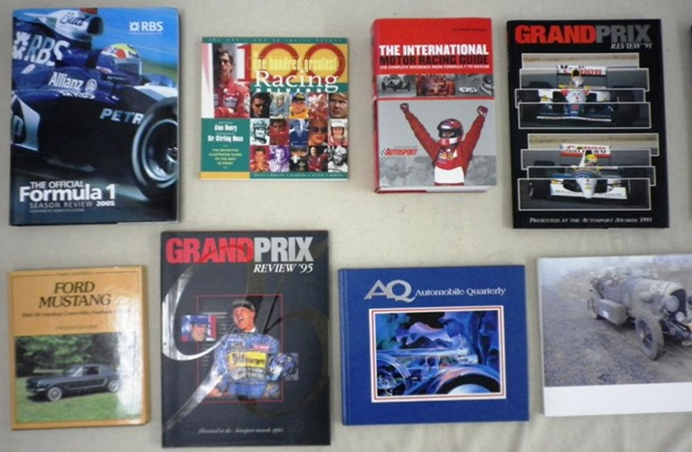 Lot 087 - Stirling Moss book collection