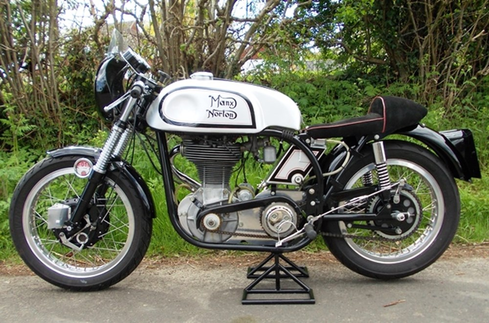 Lot 347 - 1961 Norton Manx 500cc
